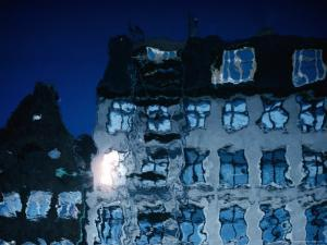 Building Reflection in Canal, Copenhagen, Denmark by Brent Winebrenner