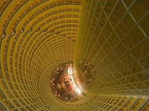 Hyatt Regency Lounge on the 56th Floor, Shanghai, China by Brent Winebrenner