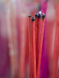 Incense Sticks, Bangkok, Thailand by Brent Winebrenner