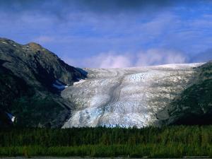 The Landlocked Exit Glacier, Kenai Fjords National Park, USA by Brent Winebrenner