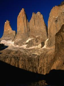 """""""The Towers"""" from Torres Del Paine Lookout, Torres Del Paine National Park, Chile by Brent Winebrenner"""