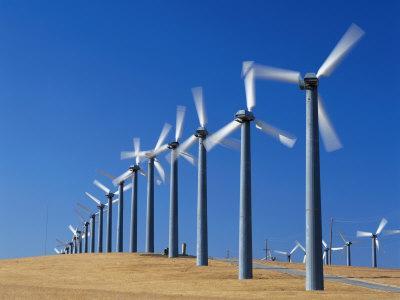 Windmills in Livermore, California
