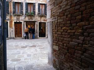 Window Shopping, Venice, Veneto, Italy by Brent Winebrenner