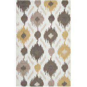 Brentwood Area Rug - Beige/Gold 5' x 8'