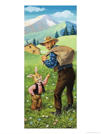 Brer Rabbit-Virginio Livraghi-Giclee Print