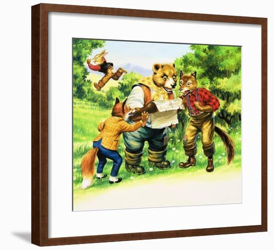 Brer Rabbit-Henry Charles Fox-Framed Giclee Print