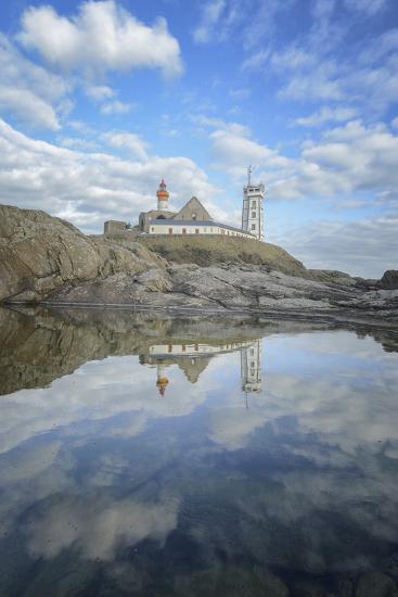 Bretagne, Miroir De La Pointe Saint Mathieu-Philippe Manguin-Photographic Print