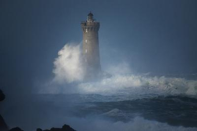 Bretagne, Overcome by Waves-Philippe Manguin-Photographic Print