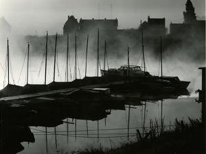 Boats, Harbor, Netherlands, 1960 by Brett Weston