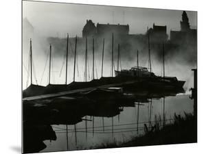 Boats, Harbor, Netherlands, 1960 by Brett Weston
