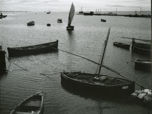 Boats, Spain, c. 1970 by Brett Weston