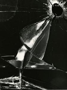 Broken Glass, Oregon, 1978 by Brett Weston