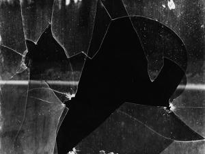 Broken Window, 1969 by Brett Weston