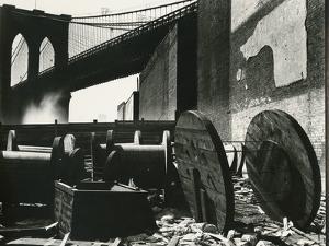 Brooklyn Bridge, New York, c. 1945 by Brett Weston