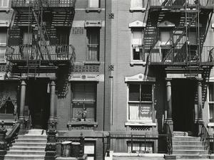 Brownstones, New York, 1943 by Brett Weston
