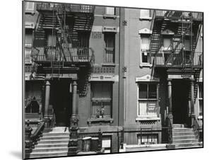 Brownstones, New York, 1943 by Brett Weston
