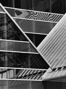 Building Reflection, c. 1980 by Brett Weston