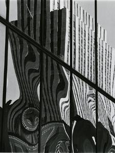 Building Reflection, c. 1980 by Brett Weston