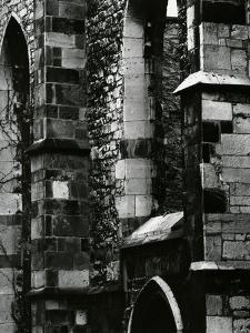 Building Wall, Europe, c. 1970 by Brett Weston