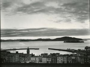 Buildings and Bay, San Francisco, 1937 by Brett Weston