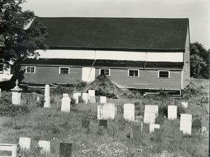 Cemetery and Building, c. 1940 by Brett Weston