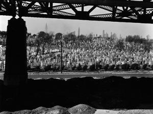 Cemetery, New York, 1943 by Brett Weston
