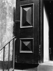 Church Door, Bowery, New York, 1946 by Brett Weston