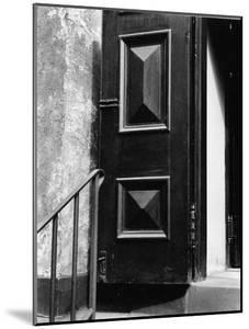 Church Door, Bowery, New York, 1946 by Brett Weston