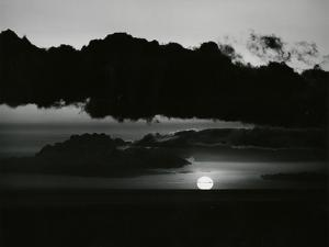 Clouds and Sun, Skyscape, c. 1975 by Brett Weston