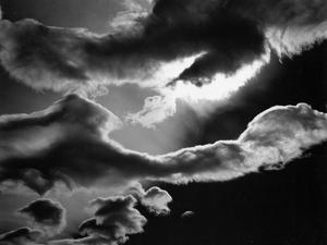 Clouds, Owens Valley, 1967 by Brett Weston