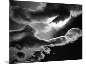 Clouds, Owens Valley, 1967 by Brett Weston