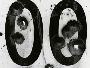 Cracked Paint and Metal, c. 1980 by Brett Weston