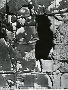 Cracked Paint, c. 1970 by Brett Weston