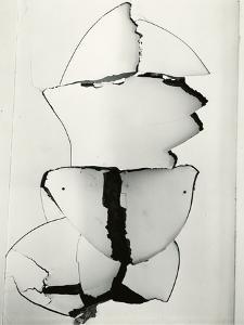 Cracked Wallboard, California, 1976 by Brett Weston