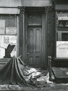 Doorway, New York, c. 1945 by Brett Weston