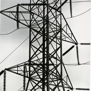 Electrical Tower, Industrial, c. 1970 by Brett Weston