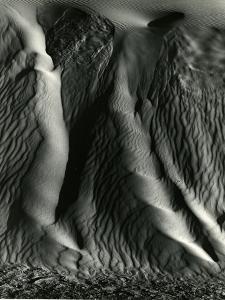 Falling Dune Wall, White Sands, 1975 by Brett Weston