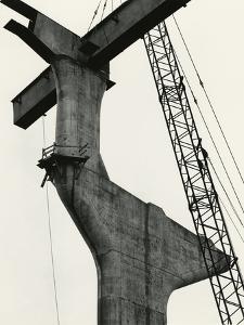 Fremont Bridge, Portland, 1971 by Brett Weston