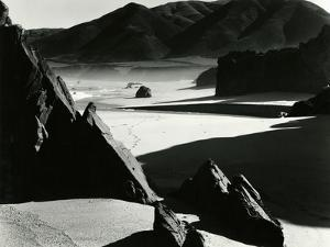 Garrapata Beach, California, 1954 by Brett Weston