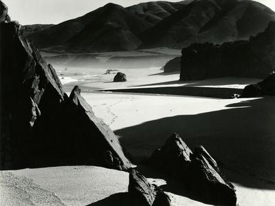 Garrapata Beach, California, 1954