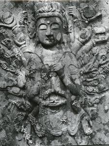 Gravestone Relief Figure, Japan, 1970 by Brett Weston