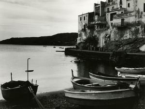 Harbour Scene, Spain, 1960 by Brett Weston