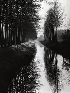 Holland Canal, 1973 by Brett Weston