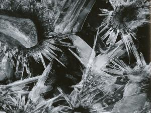 Ice and Rock, c. 1970 by Brett Weston