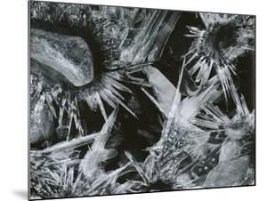 Ice and Rock, c. 1970 by Brett Weston