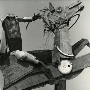 Junkyard Sculpture, c. 1950 by Brett Weston