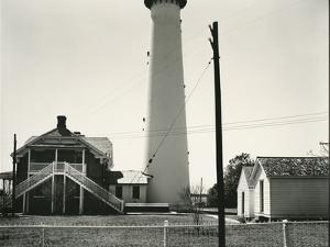 Light House and Buidings, c.1950 by Brett Weston