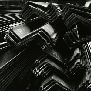 Metal Beams, Industrial, c. 1970 by Brett Weston