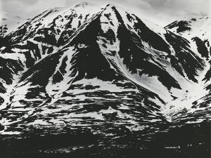 Mountains and Snow, Alaska, 1973 by Brett Weston