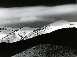 Mountains, Clouds, Snow, c. 1975 by Brett Weston